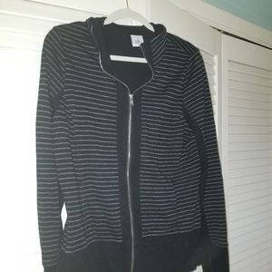 Cabi striped track style jacket